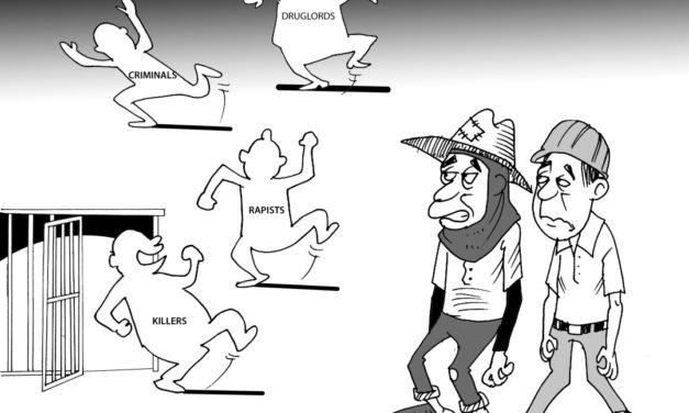 Editorial Cartoon Vol 23 No 18