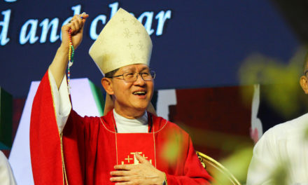 Cardinal Tagle: 'Let us go on mission, together'