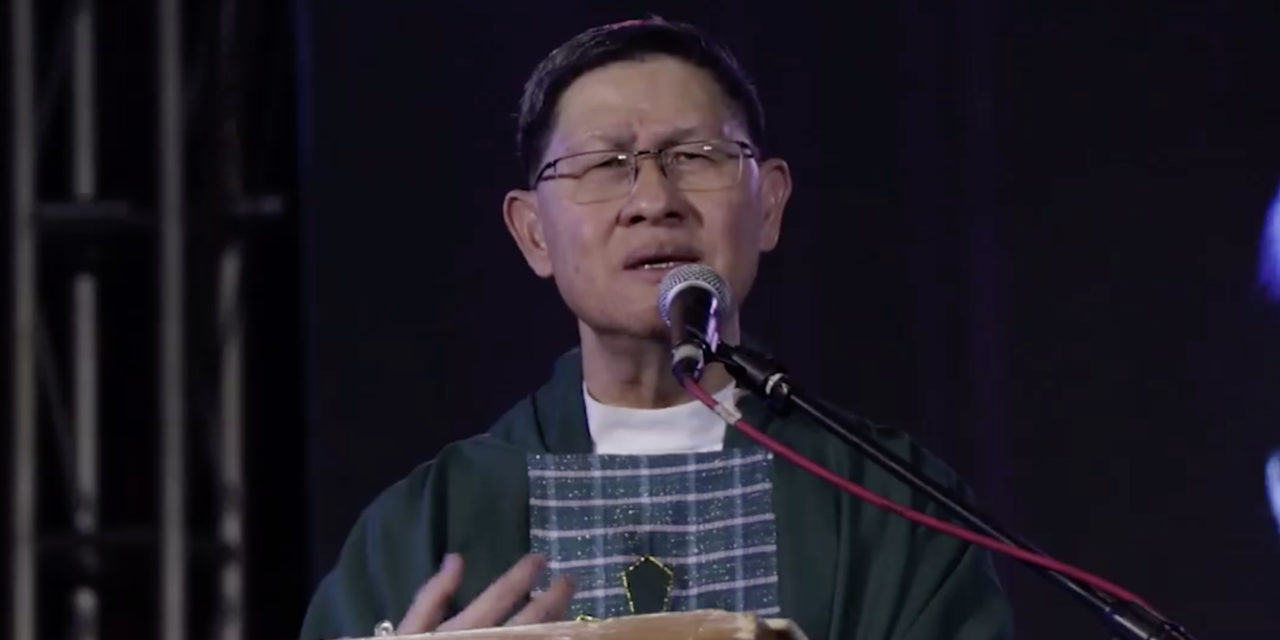 Family is a 'gift', not a burden — Cardinal Tagle