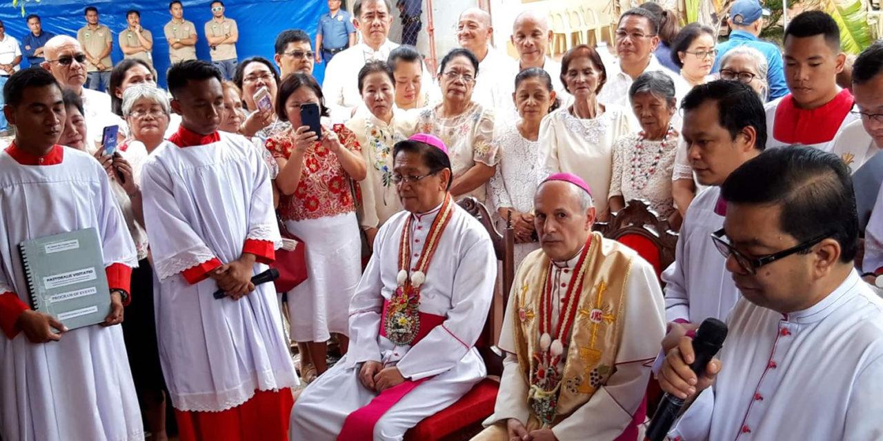 Nuncio urges Dumaguete diocese to preserve religious heritage