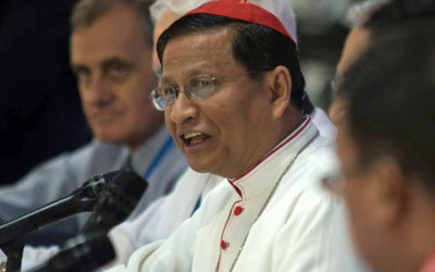 Cardinal Bo calls on protesters in Burma to remain committed to non-violence