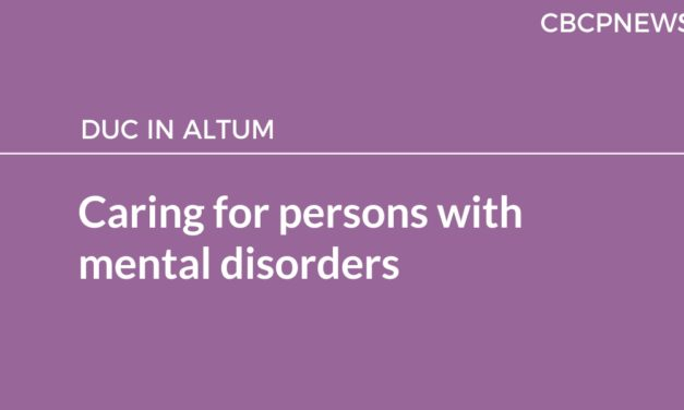 Caring for persons with mental disorders