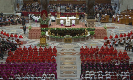 Pope Francis urges new cardinals to imitate Christ's compassionate heart
