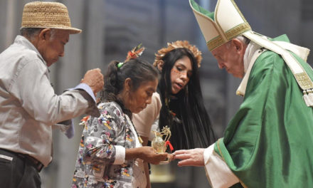 Pope Francis prays for 'daring prudence' during Amazon synod