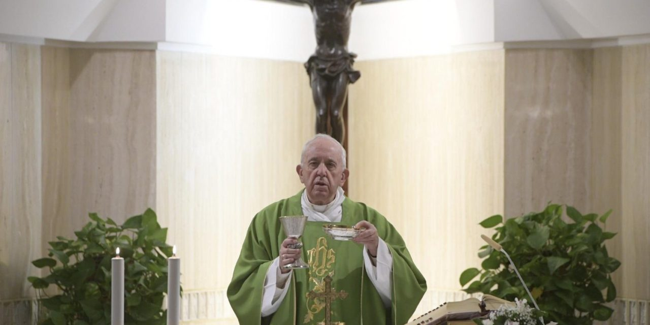 Beware of those who want God to live up to their standards, pope says