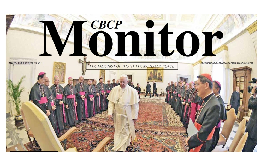 CBCP Monitor Vol 23 No 11
