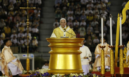 Pope Francis' homily at Mass at the National Stadium of Bangkok