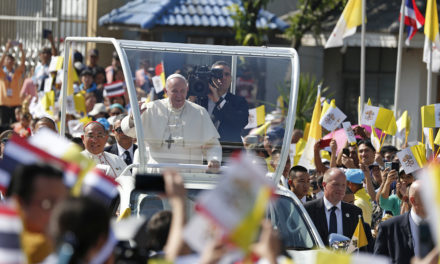 Pope Francis in Thailand
