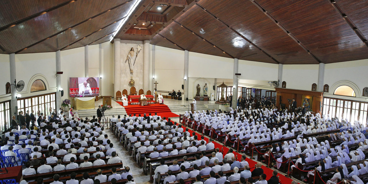 Filipino missionaries in Thailand accept pope's challenge