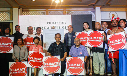 Philippine faith communities unite against 'climate emergency'