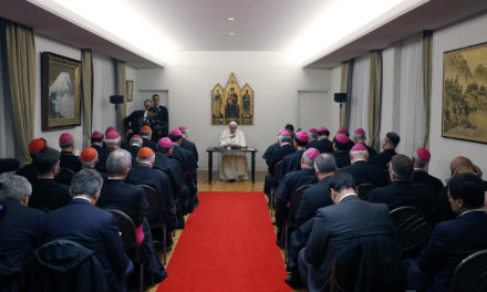 In Japan, Pope calls himself a 'missionary pilgrim'