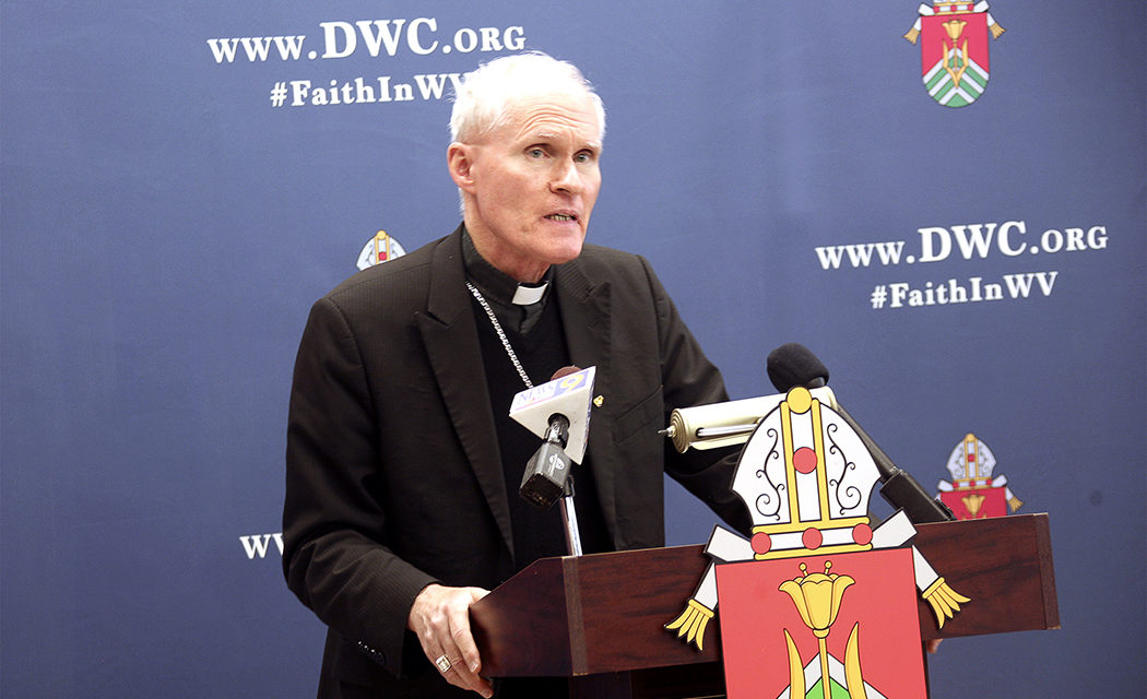 West Virginia bishop asks predecessor to repay $792,000 to diocese