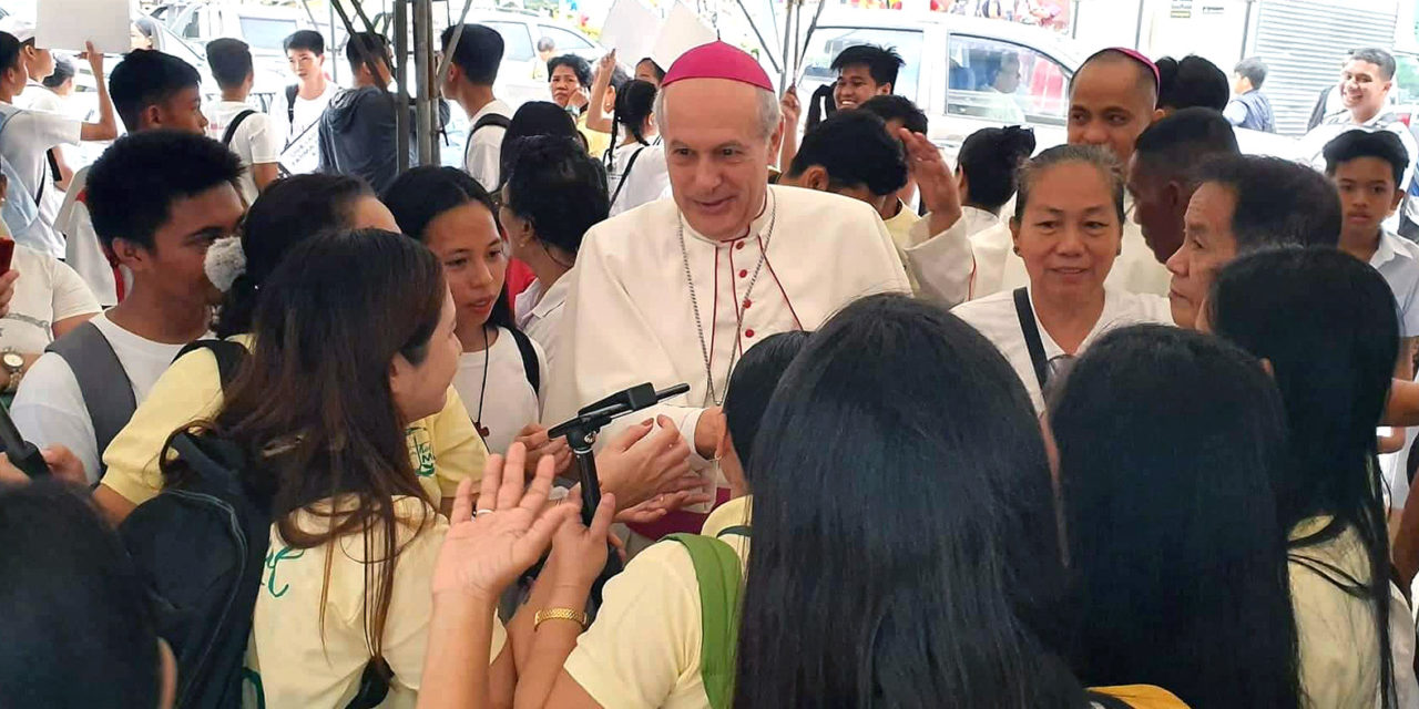 Outgoing papal envoy leaving PH with 'heavy heart'