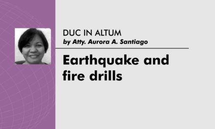 Earthquake and fire drills