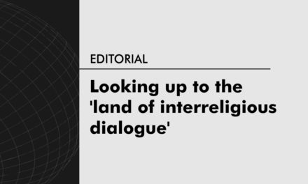 Looking up to the 'land of interreligious dialogue'