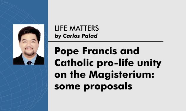 Pope Francis and Catholic pro-life unity  on the Magisterium: some proposals