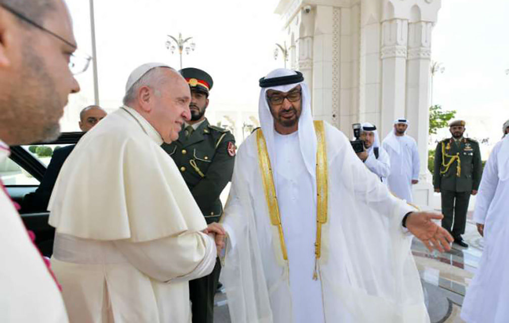 Pope, Abu Dhabi crown prince make joint commitment to improving health of the poor