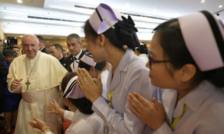 Merciful care should affirm the dignity of the sick, pope tells Catholic hospital in Thailand