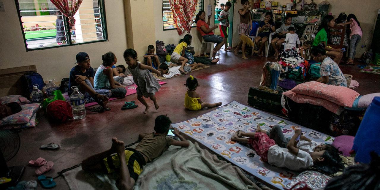 'Tisoy' makes churches open doors to evacuees