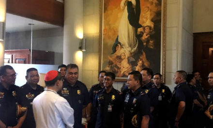 Cardinal Tagle to police: Be  instruments of harmony