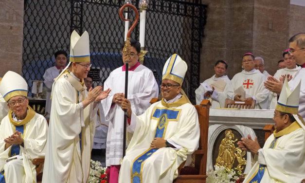 New bishop ordained for Sorsogon diocese