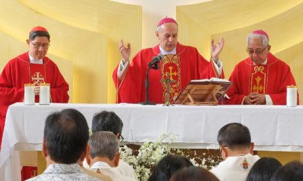 Outgoing nuncio to Filipinos: Spread the faith to the world