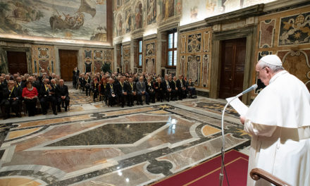 Pope tells his elderly peers the prayers of the old are powerful