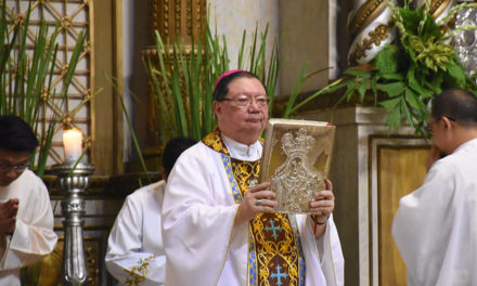 Bishop pushes 3 W's to promote Christian unity