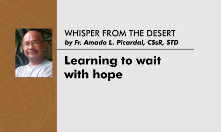 Learning to wait with hope