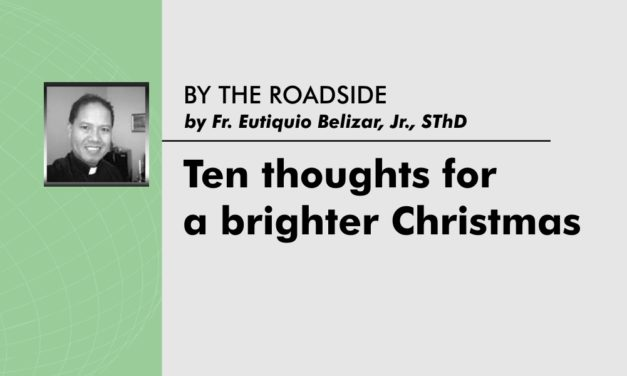 Ten thoughts for a brighter Christmas