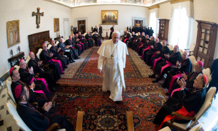 Pope urges bishops to teach discernment, including on political issues