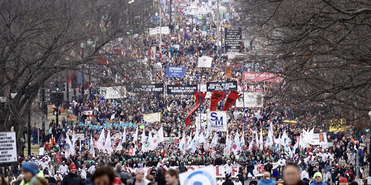 PHOTO: Tens of thousands 'March for Life' in Washington