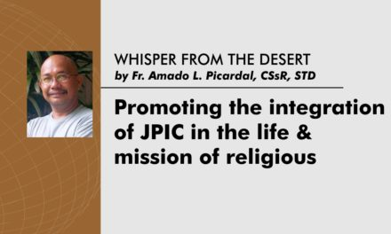 Promoting the integration of JPIC in the  life and mission of religious