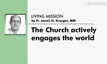The Church actively engages the world