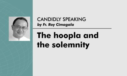 The hoopla and the solemnity