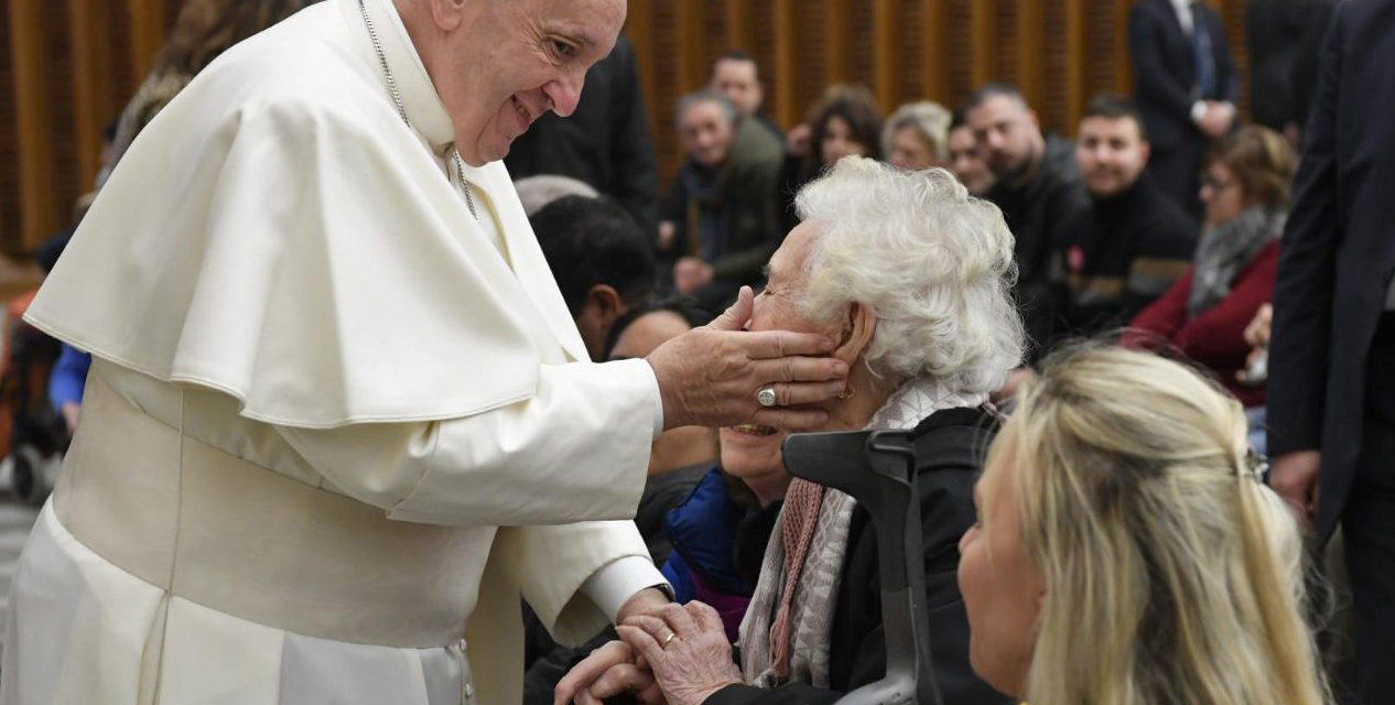 Pope Francis: God acts in the midst of our trials and failures