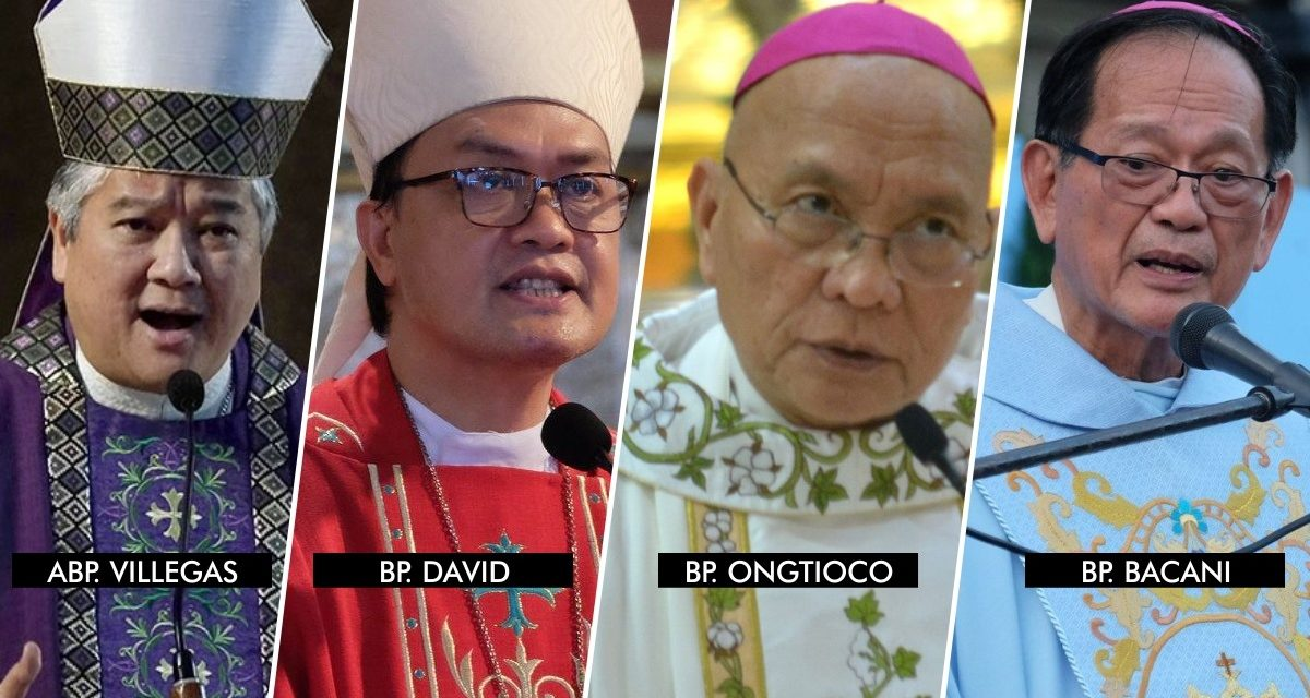 DOJ clears 4 bishops of sedition charges