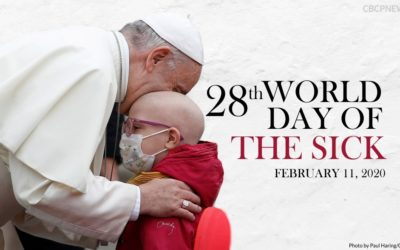 Message of Pope Francis for the 28th World Day of the Sick 2020