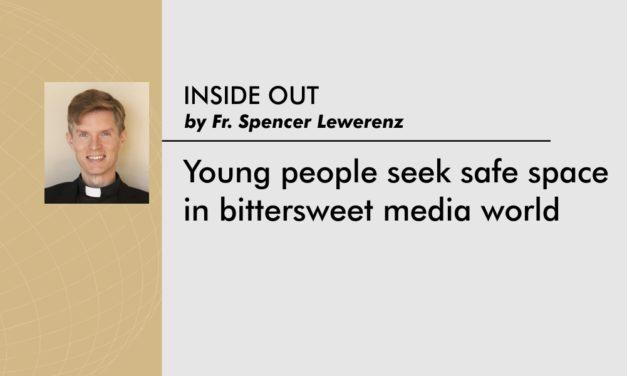 Young people seek safe space in bittersweet media world