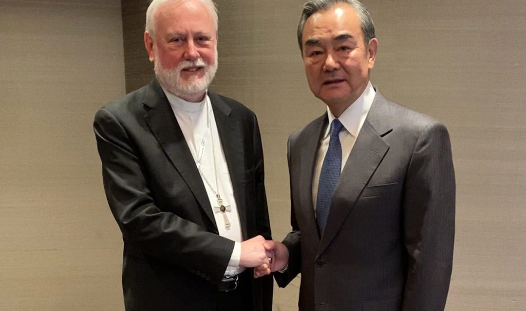 Vatican, Chinese diplomats discuss deal on bishop appointments