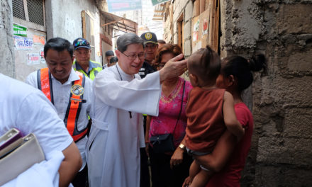 Cardinal Tagle calls for Covid-19 'jubilee'
