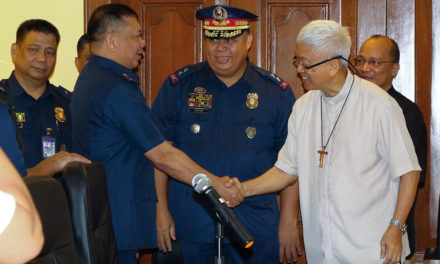 Manila archdiocese opens dialogue channels with military, police