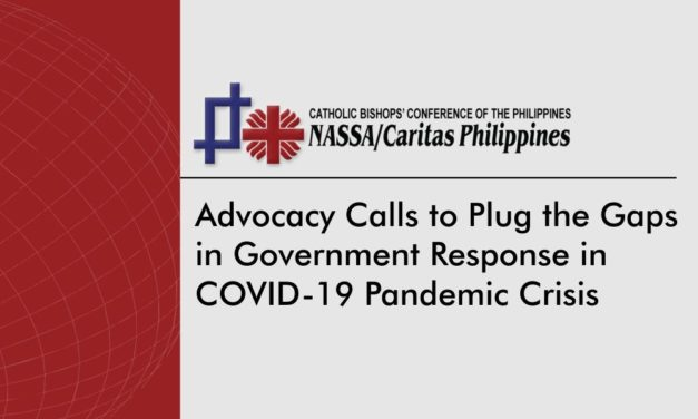 Advocacy calls to plug the gaps in government response in COVID-19 pandemic crisis