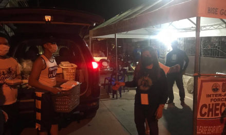 Bulacan parish serves meals to those in the line of duty