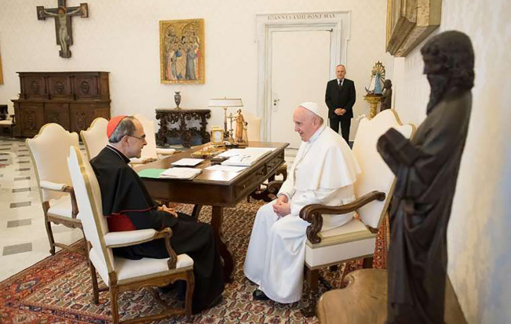 Pope accepts resignation of Cardinal Barbarin as Archbishop of Lyon