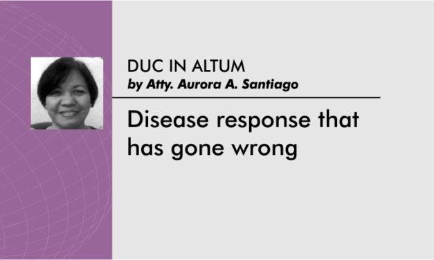 Disease response that has gone wrong