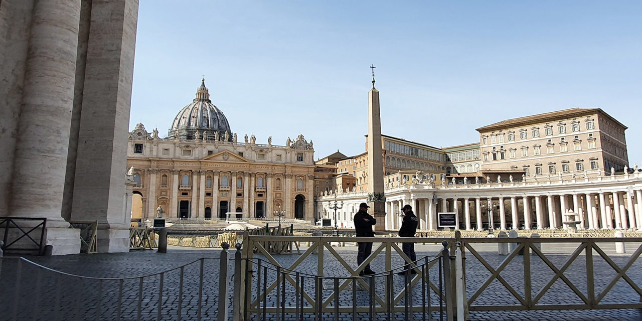 How a chaplain brings Christ to patients at Rome's 'Covid Hospital 1'
