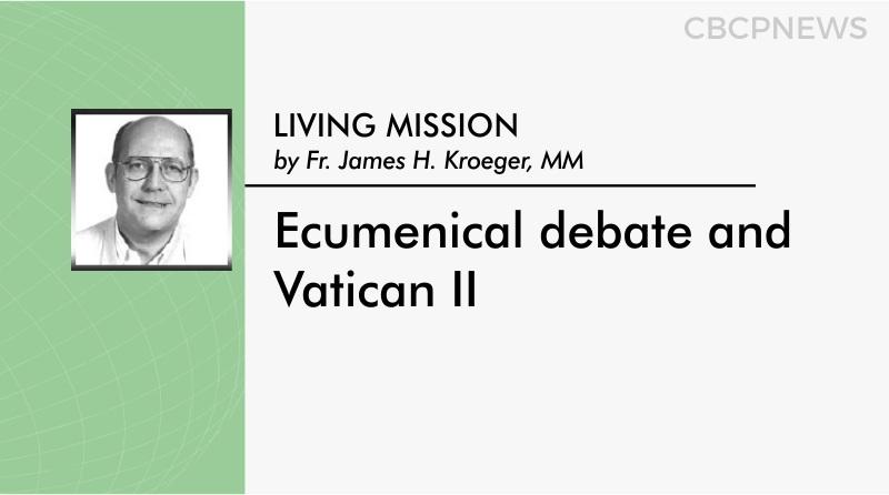 Ecumenical debate and Vatican II