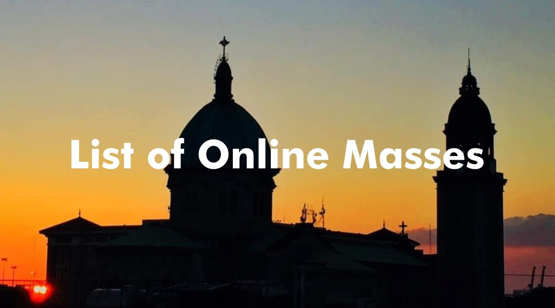 List of online Masses
