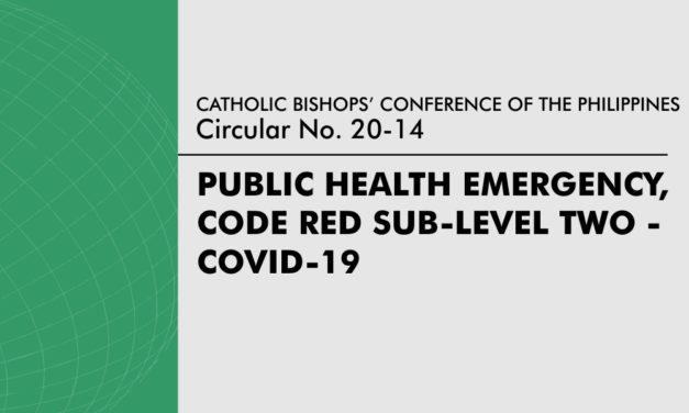 Public Health Emergency, Code Red Sub-Level Two – COVID-19